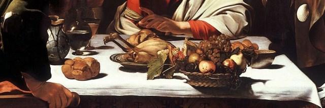 Caravaggio, Cena in Emmaus